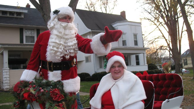 Santa and Mrs Claus are expected to parade down Front Street Saturday at the 27th annual holiday parade.