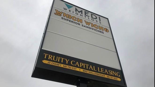 Which Wich sandwich shop will open a location soon on Grant, off Kemp.