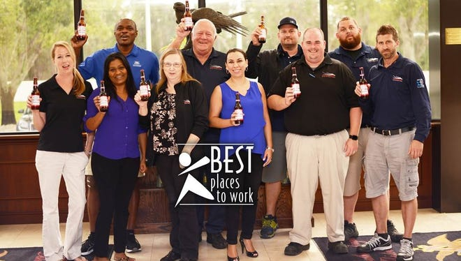 Southern Eagle Distributing, which supports manylocal charities and non-profits, has been named aBest Place to Work in St. Lucie County by the St. Lucie County Human Resource Association.