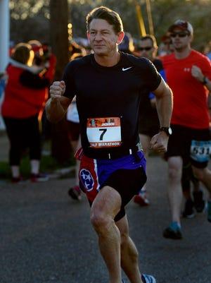 Randy Boyd participated in the 45th annual Andrew Jackson Marathon's half marathon April 1 in Jackson.