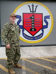 Cmdr. Scott Smith oversees the Navy's first unmanned undersea drone squadron, based at Keyport.