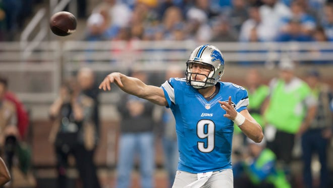 Behind a strong second half, Matthew Stafford finished 2015 with the second-best statistical season of his career.