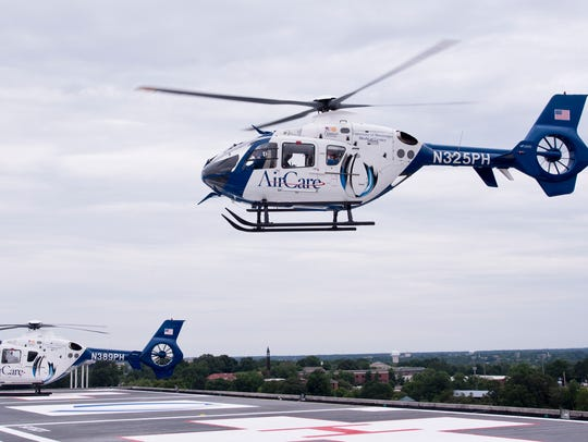 AirCare includes a fleet of four medical transport