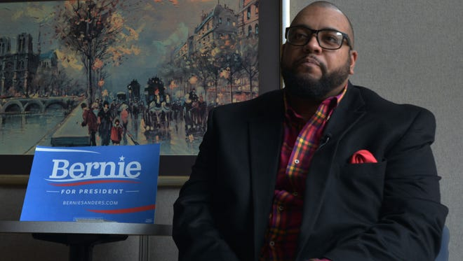 Tavis Hall, a consultant for the Bernie Sanders campaign  in Waterloo, Iowa, says Hillary Clinton fails to go far enough on  some issues important to African Americans.