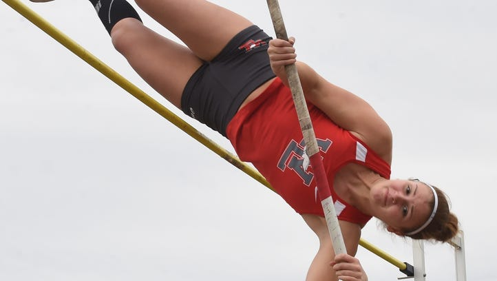 Red Devils head  of the class at West Lafayette Relays