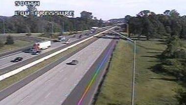 Delays on Interstate 5.