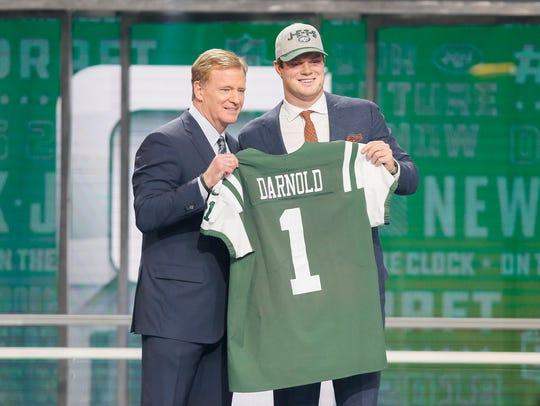 3. New York Jets - Sam Darnold, QB, USC