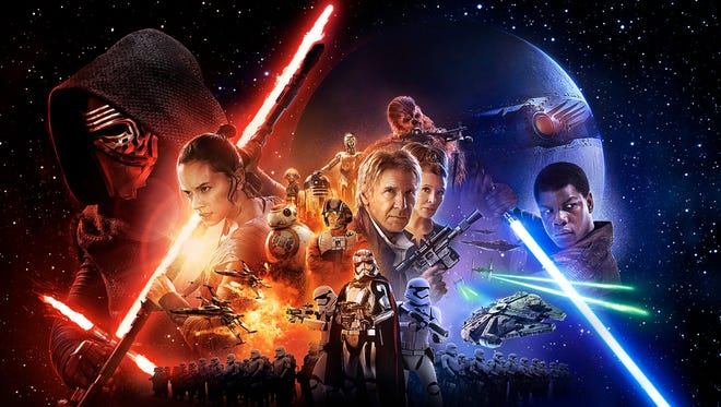 """Star Wars: The Force Awakens"" opens in theaters this weekend."