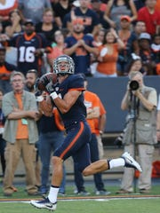 UTEP's Cole Freytag caught a second quarter touchdown.
