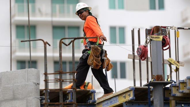 Construction and other services companies have seen increased sales and employment recently.