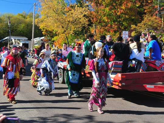 The Grand Parade is a highlight of the Bayfield Apple