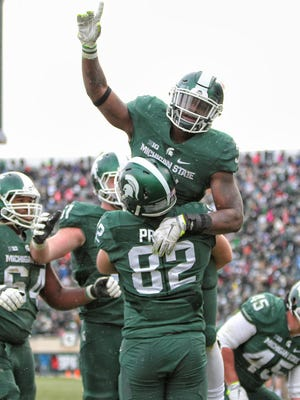 MSU football didn't get to enjoy many of these moments last season. But because of its 3-9 record, modest success this year will feel so much better.