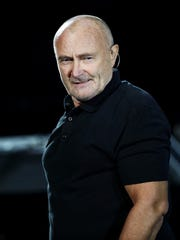 Phil Collins will perform at Little Caesars Arena on Oct. 1.