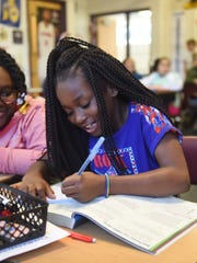 Ferndale Upper Elementary School students Savanna Taylor