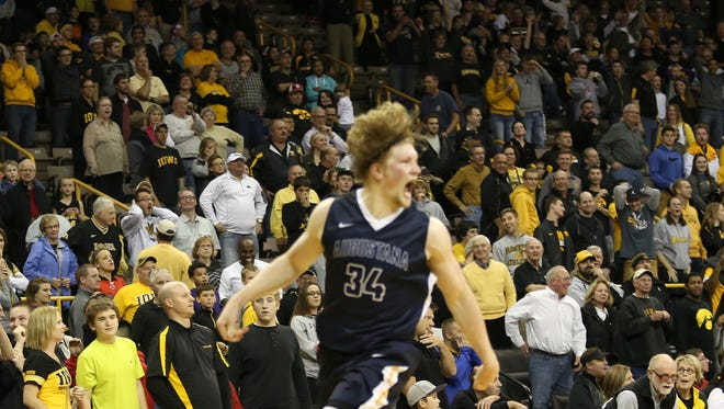 Augustana and Daniel Jansen, which beat Iowa in exhibition play in November, won the NCAA Division II national championship on Saturday.
