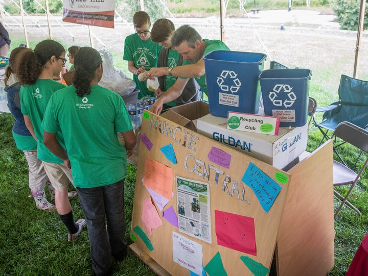 Patrons of the Living Lightly Fair at Minnetrista overcame