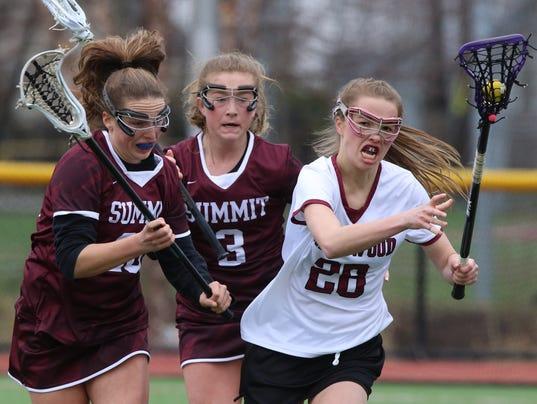 Summit vs Ridgewood -- Girls Lacrosse - Rematch of last year's Tournament of Champions won by Summit.