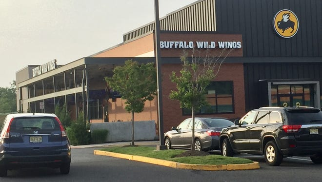 The parking lot of Buffalo Wild Wings in Moorestown was the scene of an ill-fated meth deal on Tuesday, federal authorities say.