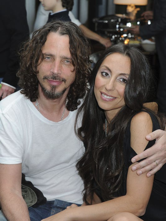 AP CHRIS CORNELL WIFE LETTER A ENT FILE USA CA