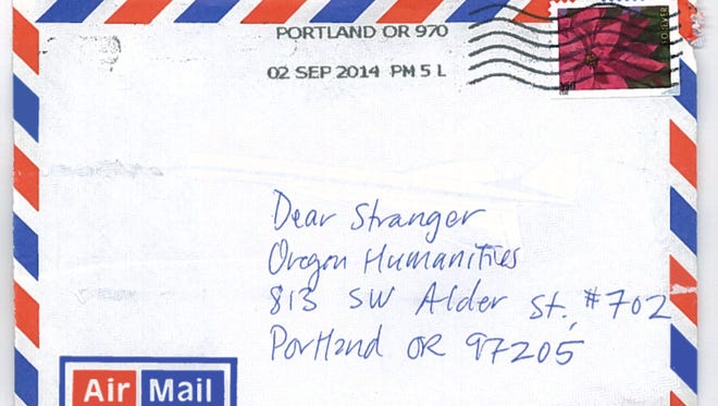 Dear Stranger is a letter-exchange where Oregonians can write an anonymous letter to someone they have never met.