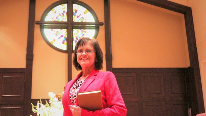 Betty Swanson said she considers herself a pastor first and a woman second.