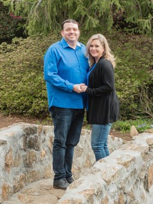 Engagements: April Roberson & Jim Valerio