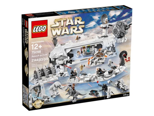 Hoth base LEGO box