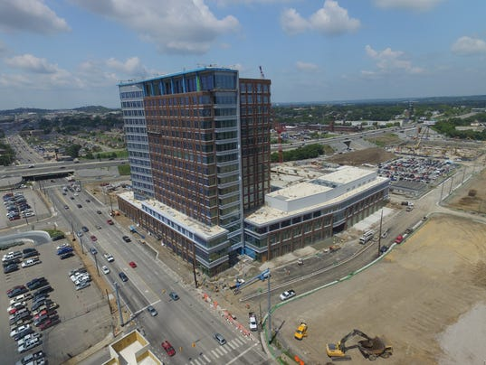Pinnacle Bank Branch Planned At Hca S New North Gulch Tower