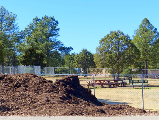 mulch-by-the-dog-park-at-white-mountain
