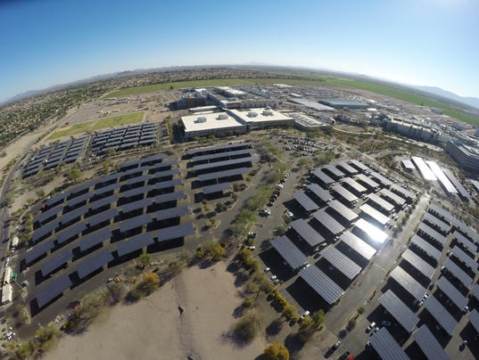 Intel solar project