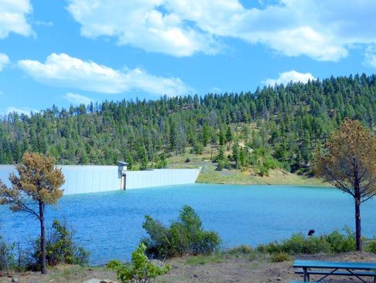 grindstone dam and reservoir