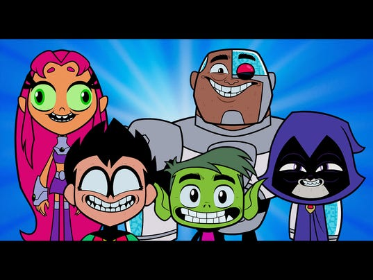 Teen Titans group exclusive for online