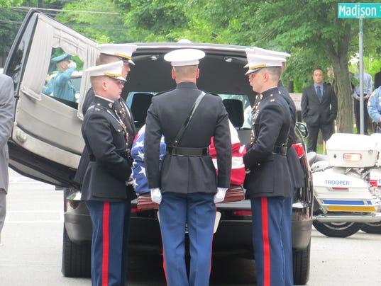 NJSP Brian McNally funeral