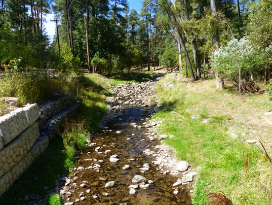 Lower Ruidoso Diversion Keeps River Flowing