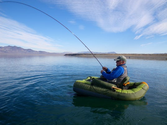 Fishing report for oct 6 for Pyramid lake fishing report