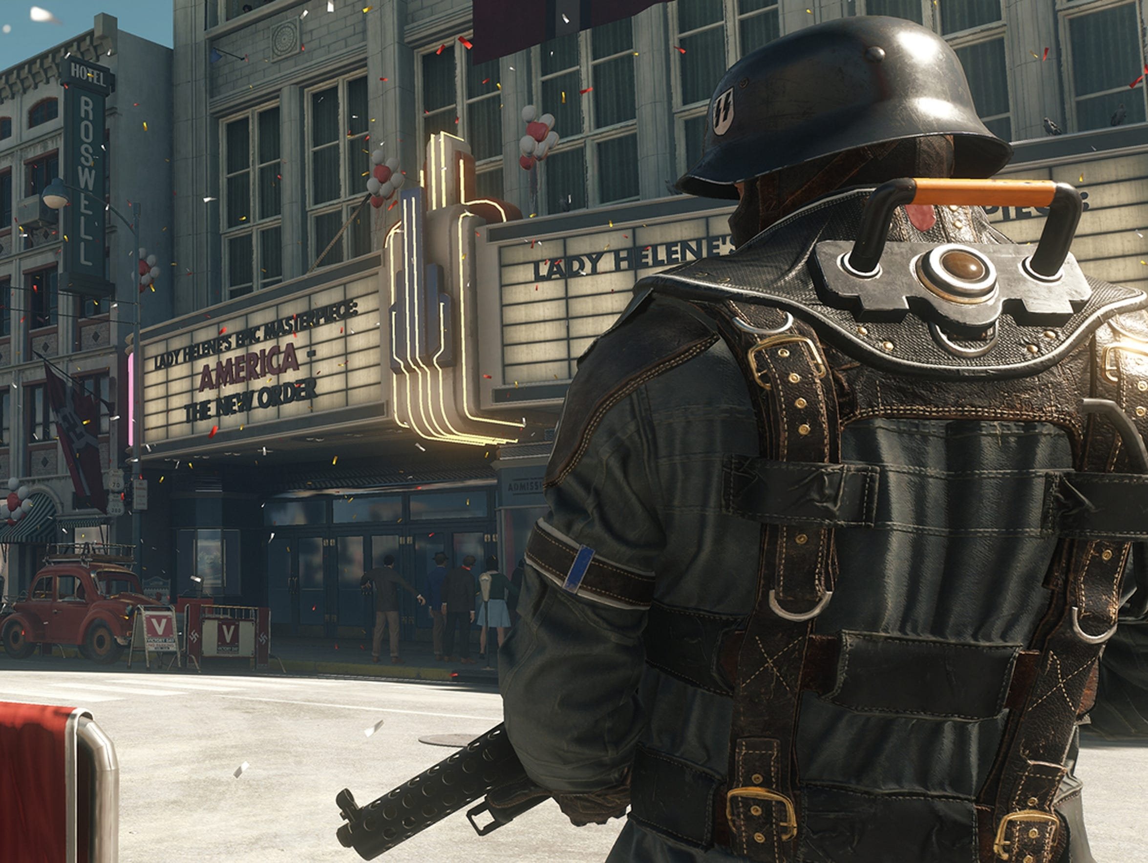 Wolfenstein II: The New Colossus for PC, PS4, Xbox