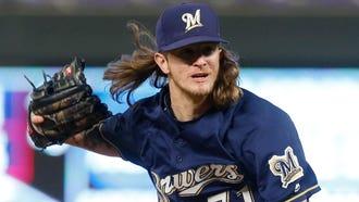 Milwaukee Brewers pitcher Josh Hader
