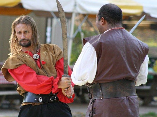 Renaissance Faire, entertainment provided by the New