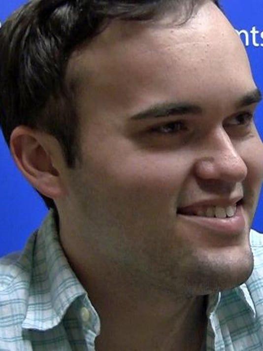 MTSU alumnus Davis Thompson