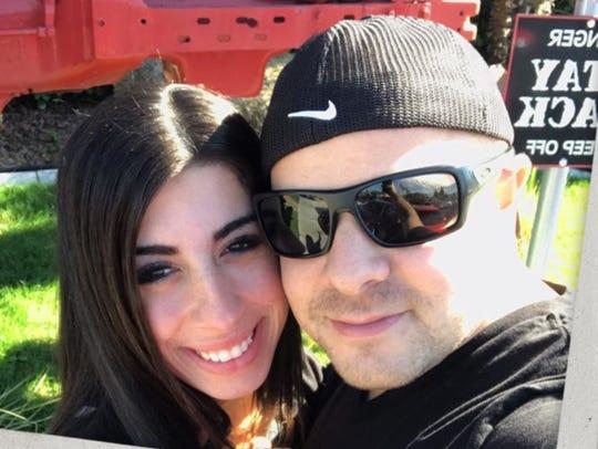 Megan Iannuzzi and Valdo Panzera Jr.
