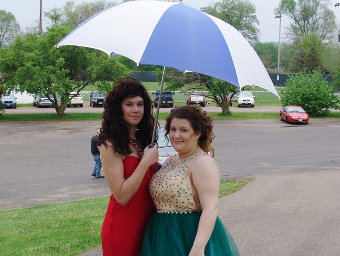 Ridgewood High School held its promon Saturday at Lake