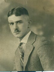 A 1946 photo of Joe Fountain. He was the only reporter at the swearing in of Calvin Coolidge as president on Aug. 3, 1923.