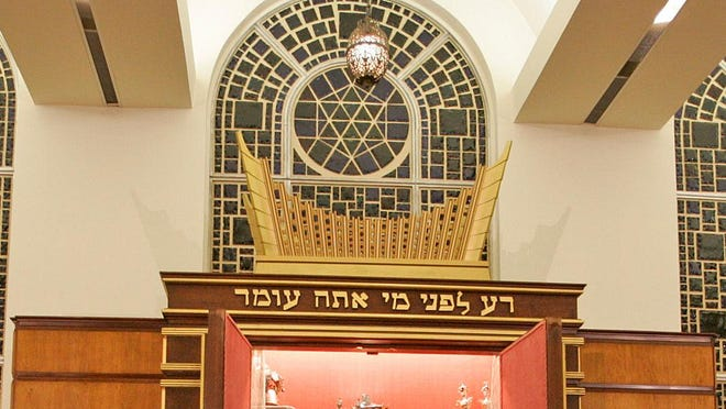 """Congregation Tifereth Israel's online service were interrupted by Anti-Semitic messages broadcast by """"zoombombers."""""""