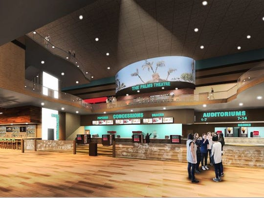 A conceptual drawing of The Palms in Waukee shows what