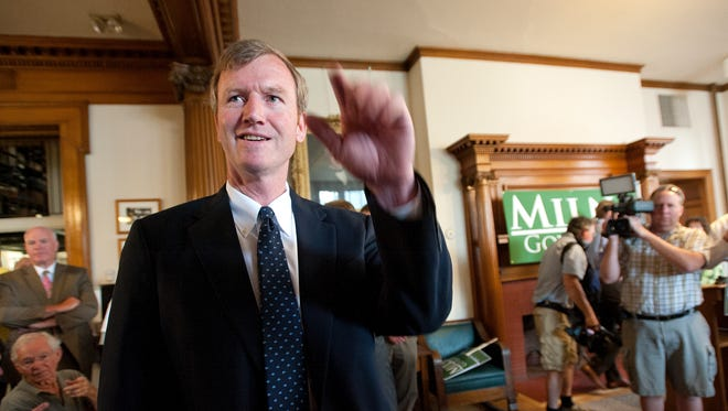 Scott Milne officially announced his candidacy as a Republican candidate for governor on July 23. Brent Burns, his campaign manager, resigned Friday.