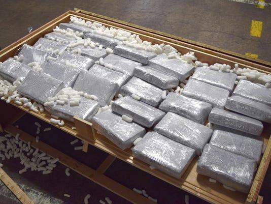 Cocaine Hidden in Furniture