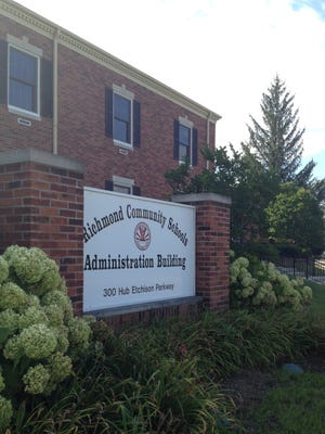 Richmond Community Schools' administration building.