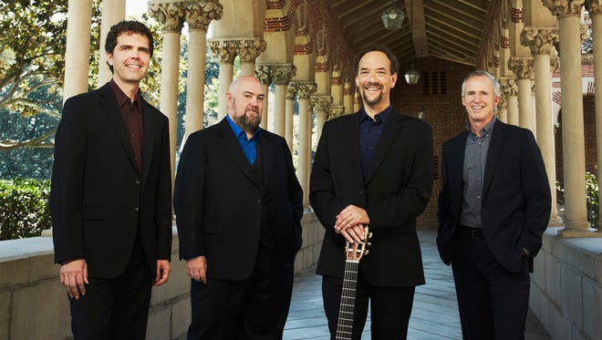 Members of the internationally-acclaimed Los Angeles Guitar Quartet are making a return visit to St. Cloud as part of the Chamber Music Society of St. Cloud's annual concert series.