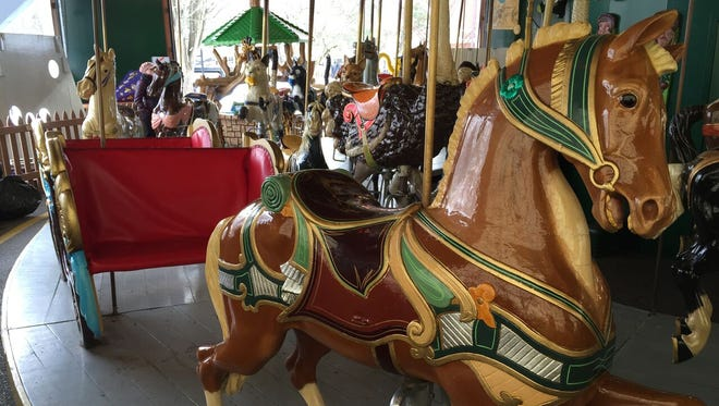 Carmel is considering purchasing an antique carousel.