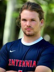 Noah Swartz, from Peoria Centennial, is azcentral sports'